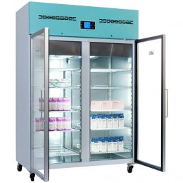 Lec Medical Pharmacy Fridge Glass Door 1200 Litres