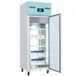 Lec Medical Pharmacy Fridge Solid Door 600l