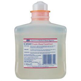 DEB Cutan Foam Hand Sanitiser 1x1l