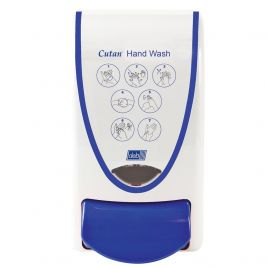 DEB Cutan Hand Wash Dispenser 1 Litre White