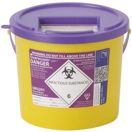 Sharpsguard Cyto Purple 7 Litres