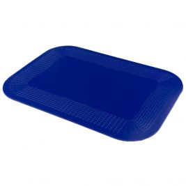 Dycem Non-Slip Mat Rectangle 25cmx18cm Blue