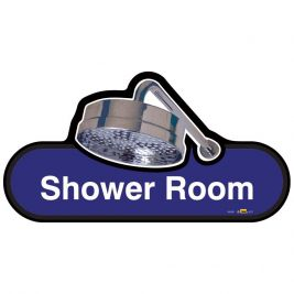 Find Shower Room Sign 300mm