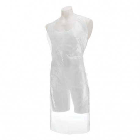 Care Essentials Apron Flat Packed White 2x100