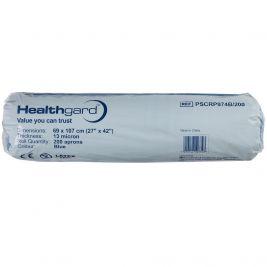 Healthgard Apron Roll Blue 1x200
