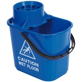 Professional Bucket and Wringer 15 Litre Blue