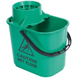 Bucket And Wringer 15l Green