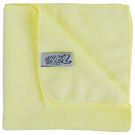 Exel Microfibre Cloth Yellow 1x10