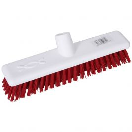 Abbey Hygiene Broom Head Red