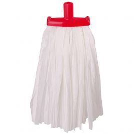 Big White Prairie Mop Head Red