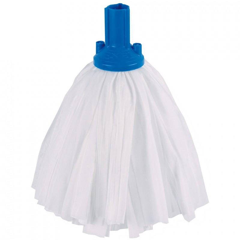 Big White Socket Mop Head Blue