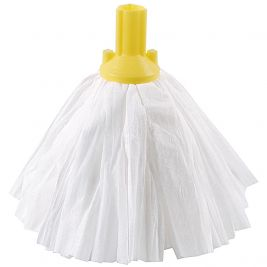 Big White Exel Mop Head Yellow