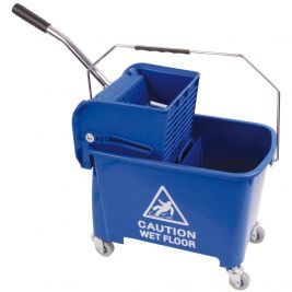 Speedy Bucket and Wringer 20 Litre Blue