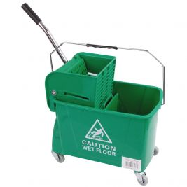 Speedy Bucket and Wringer 20 Litre Green
