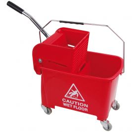 Speedy Bucket and Wringer 20 Litre Red