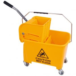 Speedy Bucket and Wringer 20 Litre Yellow