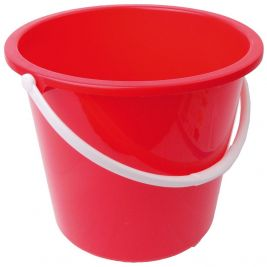 Bucket 10l Red