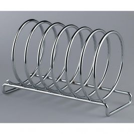 Toast Rack 6 Slice Chrome