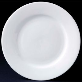 Classic Plain Winged Side Plate 17cm 1x12