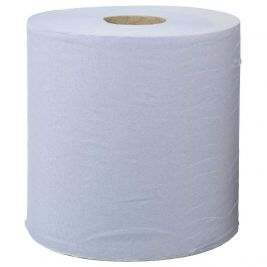Care Essentials Centrefeed Roll 2 Ply Blue 1x6