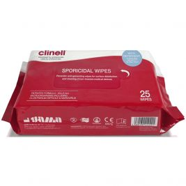 Clinell Sporicidal Wipes 1x25