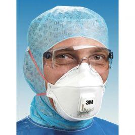 3M Particulate Respirator FFP3 Valved 1x10