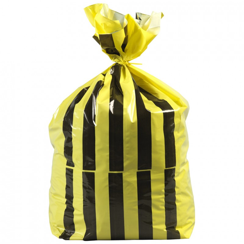 Tiger Stripe Bags Offensive Waste Bags Small
