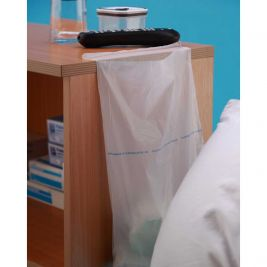 Premier White Bedside Locker Waste Bags 1x200