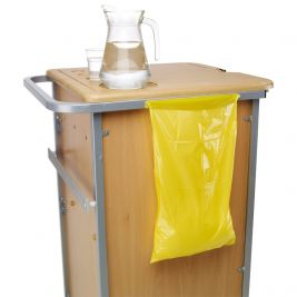 Premier Yellow Bedside Locker Waste Bags 1x200