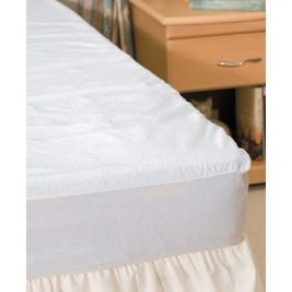 Terry Towelling Mattress Protector Single