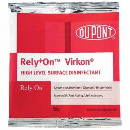 Virkon High Level Surface Disinfectant Sachets 50g 1x50