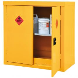 Hazardous Storage Cupboard 2 Door 1 Shelf