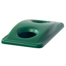 Slim Jim Recycling Lid Green