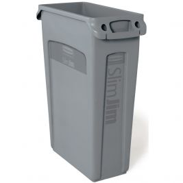 Slim Jim Recycling Bin Grey