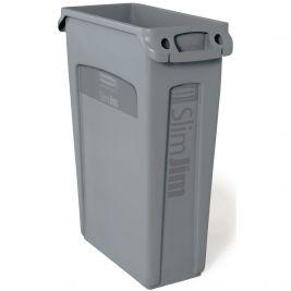 Slim Jim Recycling Bin Grey