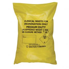 Clinical Waste Sacks 1x50
