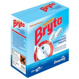Bryta 5 In 1 Dishwasher Tablets 1x120