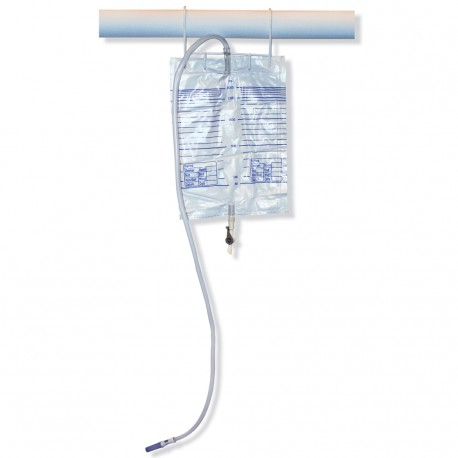 Bedside Hanger for 2L Urine Drai