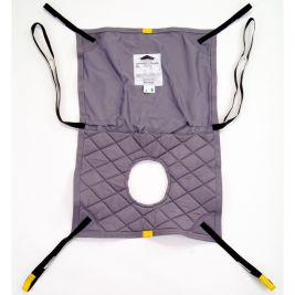 Oxford Long Seat Commode Sling Small