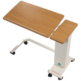 Easi-Riser Overbed Table Tilt Top Wheelchair Base