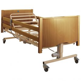 Bradshaw Nursing Care Bed Light Oak