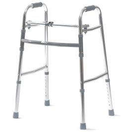 Adjustable Height Folding Walking Frame