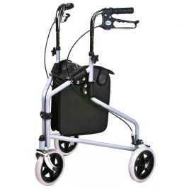 Tri Wheel Walker With Bag