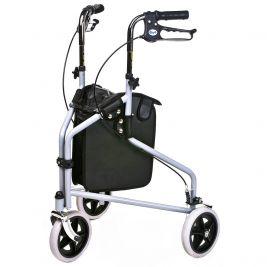 Tri Wheel Walker With Bag