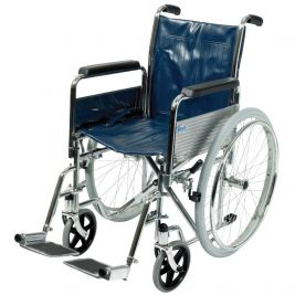 Standard Width Self-Propelling Wheelchair with Folding Back