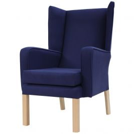 Leavesden Queen Anne Wingback Chair