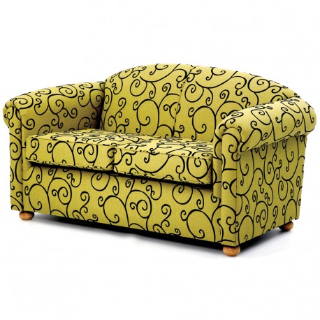 CROSBY LOW BACK 2 SEATER SOFA