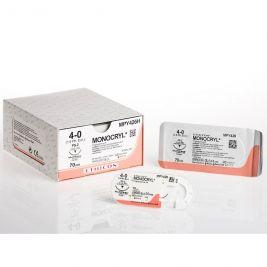 70cm Monocryl Violet 3-0 W/ 26mm 1/2 Circle Taper Point Plus Needle