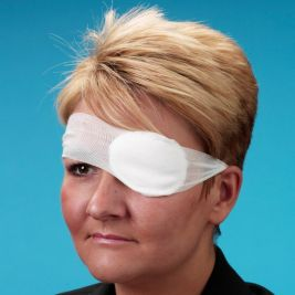 Oval Eyepad Sterile