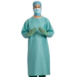Barrier Medical Gowns W/ 2 Hand Towels Large